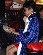 Joseph in his piano recital