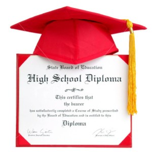 high school diploma vs ged A ged is not equivalent to an accredited high school diploma although both teach the basics, a diploma program provides a more comprehensive education it's not just the basic courses that are important.
